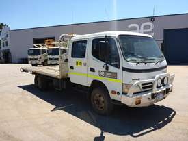 2011 Hino 300C Dual Cab  4x2 Light Truck  - picture7' - Click to enlarge
