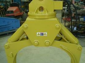 Rotating Hydraulic Grapples - picture0' - Click to enlarge