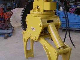 Rotating Hydraulic Grapples - picture1' - Click to enlarge