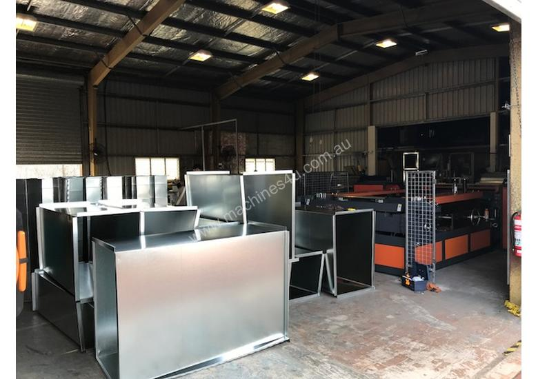HVAC Auto Lines & Ductwork Fabrication Machinery Direct to The Industry - Largest Range Ex Stock