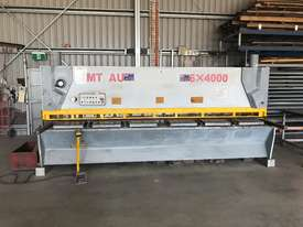 Used CMT 06 x 4000 mm Guillotine - picture0' - Click to enlarge