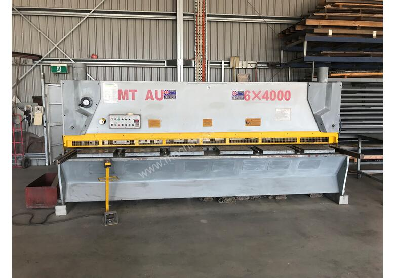 Used CMT 06 x 4000 mm Guillotine