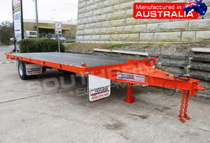 9 Ton Single Axle 20FT Container Trailer ATTTAG