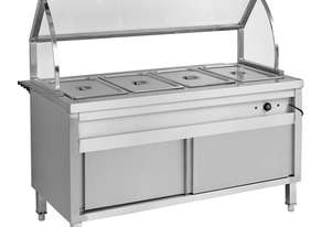 BS6H Heated Six Pan Bain Marie Cabinet