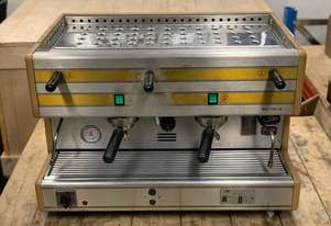 LA SAN MARCO 85 - 12 - 2 SEMI AUTOMATIC 2 GROUP ESPRESSO COFFEE MACHINE