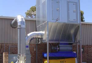 Wood Dust Filter Extraction System - 30kW Airtight 2HJ Dust Collector, 24,000m3/h