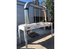 Used Leda DC-7000 7.5 HP for sale - Leda 3 bag Dust Extractor