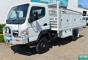 2009 MITSUBISHI CANTER FG84 Service Vehicle 4x4 Tray Top
