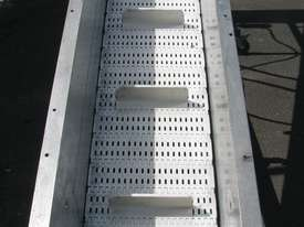 Large Incline Motorised Belt Conveyor - 3.8m long - picture2' - Click to enlarge