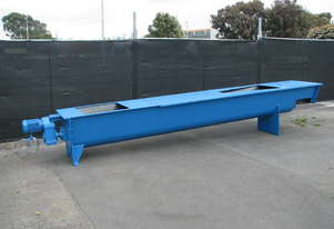 Large Auger Feeder Screw Conveyor - 4.8m long