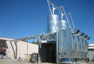 Dust Extraction Reverse Flow Filter Units