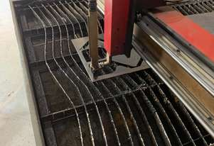 CNC Plasma table with plasma unit and air dryer