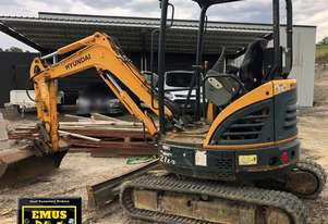 2014 Hyundai 27Z-9 Excavator, only 1400hrs. E.M.U.S. MS626