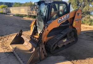 2016 CASE TR270 CAB COMPACT TRACK LOADER