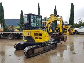 2017 YANMAR VIO45-6 EXCAVATOR WITH LOW 1200 HOURS, CABIN, HITCH AND BUCKETS - picture1' - Click to enlarge