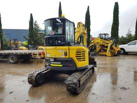 2017 YANMAR VIO45-6 EXCAVATOR WITH LOW 1200 HOURS, CABIN, HITCH AND BUCKETS - picture2' - Click to enlarge