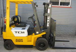 TCM 1.5ton Container Mast Used Forklift #1540