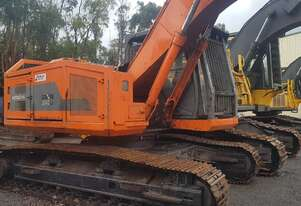 Hitachi Forestry tree harvester