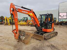 2018 KUBOTS U55-4 EXCAVATOR WITH LOW 1060 HOURS - picture0' - Click to enlarge