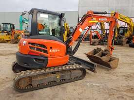 2018 KUBOTS U55-4 EXCAVATOR WITH LOW 1060 HOURS - picture2' - Click to enlarge