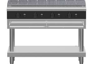 Waldorf Bold CHLB8120G-LS - 1200mm Gas Chargrill Low Back Version - Leg Stand