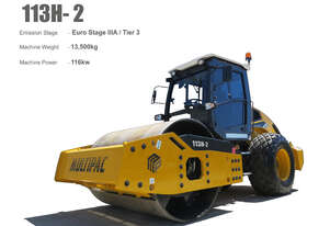 Multipac 13T Smooth drum roller