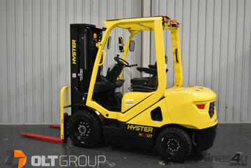 Hyster UT Forklifts 2.5 Tonne Diesel 4800mm Container Mast 4 Hydraulic Functions