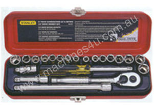 STANLEY 21 Piece Socket Set