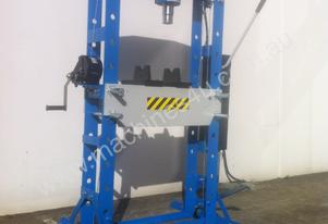 NEW MODEL - SLIDING HEAD 50 TON SHOP PRESS