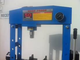 NEW MODEL - SLIDING HEAD 50 TON SHOP PRESS - picture1' - Click to enlarge
