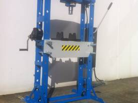 NEW MODEL - SLIDING HEAD 50 TON SHOP PRESS - picture0' - Click to enlarge