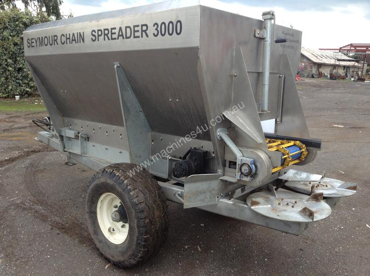 Seymour Chain Spreader - Hydraulic Drive to Floor