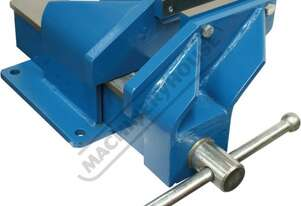 OFV5HD Steel Offset Fabricated Bench Vice - Right Hand 125mm Jaw Width 150mm Jaw Opening