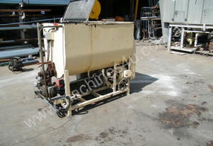 ribbon mixers  several available