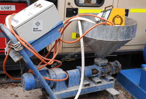 Mono small grout pump and hopper ,