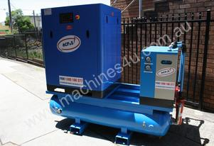 German Rotary Screw - Variable Speed Drive 30hp / 22kW Rotary Screw Air Compressor.. Power Savings