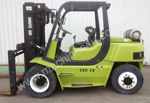 5 Tonne LPG (Gas) Forklift FOR HIRE * Clark CMP50L