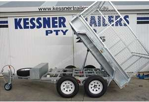 8 X 5 Heavy Duty Tandem Galvanised Trailer