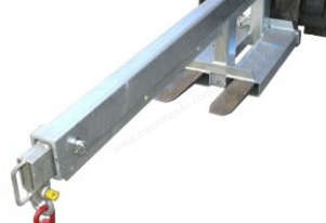 Fixed Jib Long Jib Attachment with 2500Kg SWL