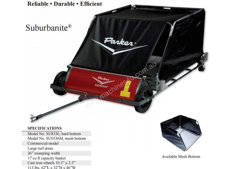 TRAILETTE TURF SWEEPER