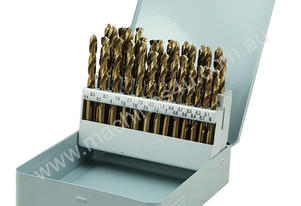 HSS-Co (5% Cobalt) Drill Bits 6-10mm Set 41pcs