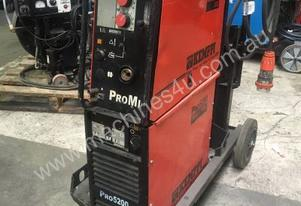 Kemppi Pro 5200 with Promig 300 feeder