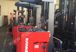 Raymond Electric HIGH Reach Truck 5m Lift 3 Stage