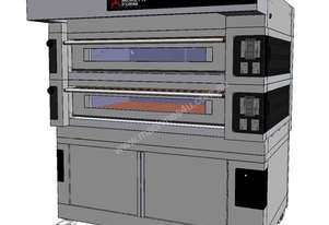 Moretti COMP S125E/2/S Double Deck Electric Deck Oven
