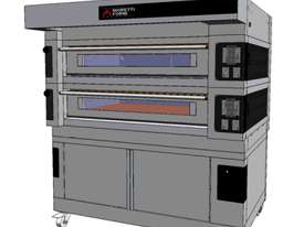Moretti COMP S125E/2/S Double Deck Electric Deck Oven - picture2' - Click to enlarge