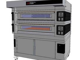 Moretti COMP S125E/2/S Double Deck Electric Deck Oven - picture0' - Click to enlarge