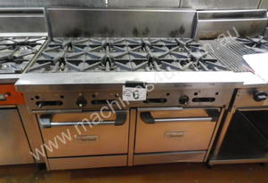Garland GF48-8LL 8 Burner Gas Double Oven Range