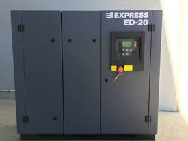 15 kW (20HP) Screw Compressor - Base Mounted  - picture2' - Click to enlarge