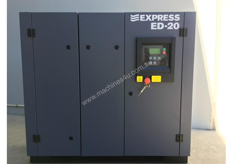 15 kW (20HP) Screw Compressor - Base Mounted