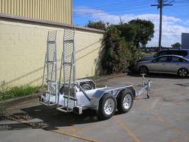 PBL Scissor Lift Trailer - Galvanised - picture0' - Click to enlarge